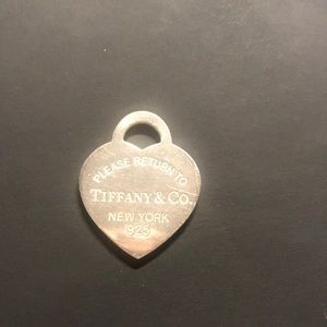Tiffany&Co Heart Pendant